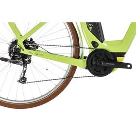 Cube Elly Ride Hybrid 500 Bicicletta elettrica da città Easy Entry verde